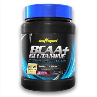 BCAA + Glutamina de Big Man...