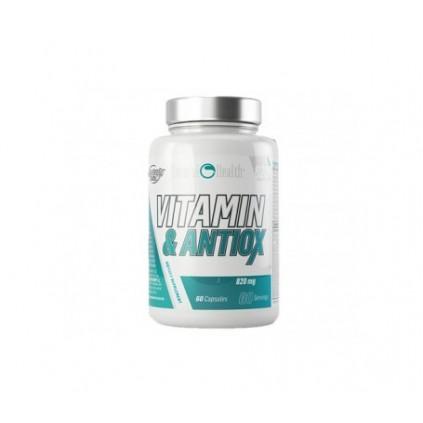 Vitamin And Antiox Natural Health 60 caps 820mg