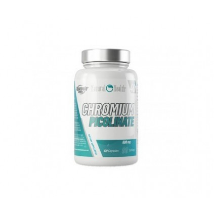 Chromium Picolinate Natural Health 60 caps