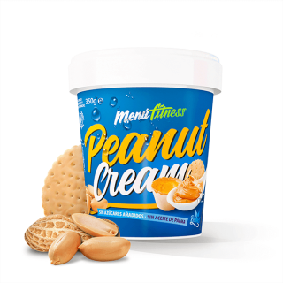 Peanut Cream Menu Fitness 350g