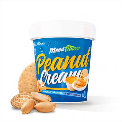 Peanut Cream Menu Fitness 350g