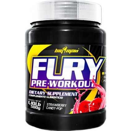 Fury Pre Workout Big man 500 gr