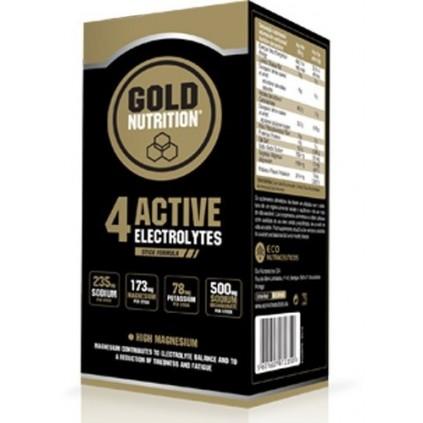 4 Active Electrolytes GoldNutrition 10 sticks