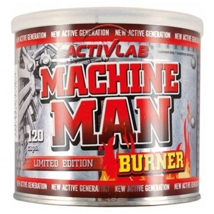 Machine Man Burner Activlab Sport 120 caps