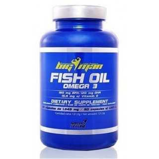 Fish Oil Omega 3 de Big Man...