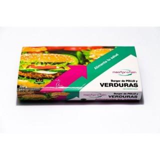 Hamburguesa Verdura...