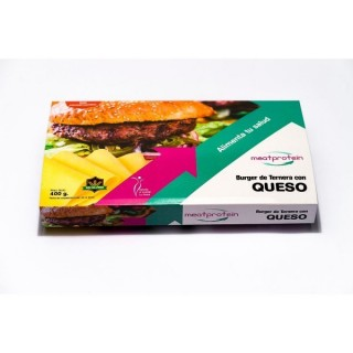 Hamburguesa Queso Meatprotein